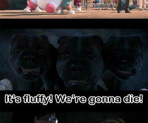 harry potter, fluffy, and lol image