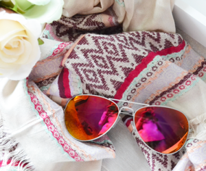sunglasses and scarf image