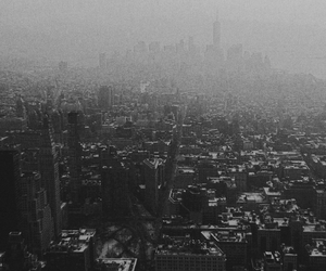 black and white, new york city, and nyc image