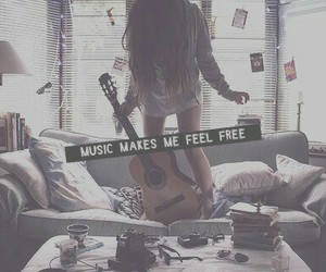 free, guitare, and music image