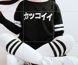 grunge, black, and japanese image