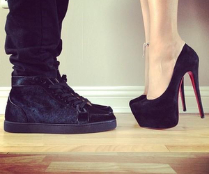 love, shoes, and couple image