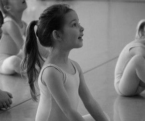 ballet, blue, and brunette image