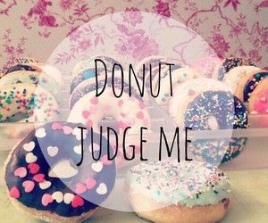 donuts, food, and judge image