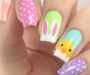 nails and easter image