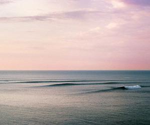 sea, sky, and pink image