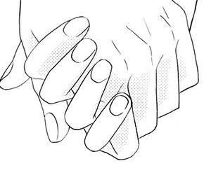 manga, hands, and shoujo image