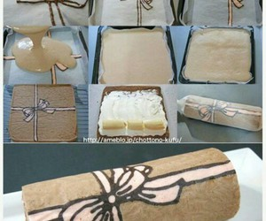 cake, diy, and bow image