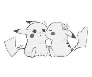 love, pikachu, and cute image