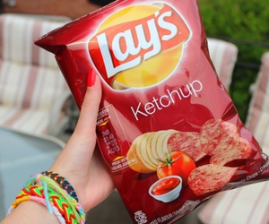 lays, chips, and ketchup image