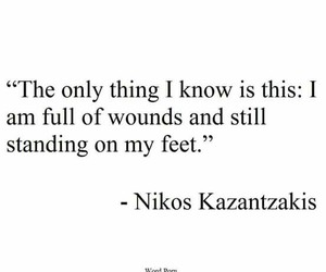 wounds, quote, and standing image