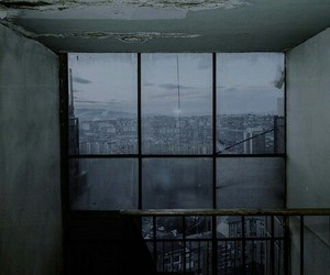 grunge, city, and window image