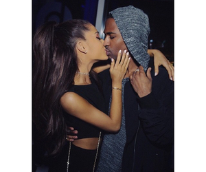 ariana grande, big sean, and kiss image