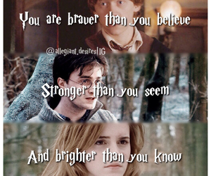 books, brave, and harry potter image