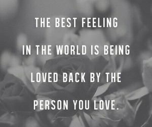 feeling, person, and love image