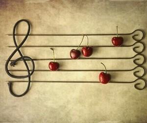 cherry and music image