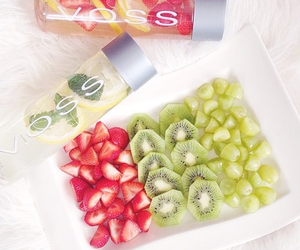 FRUiTS, detox water, and healthy image