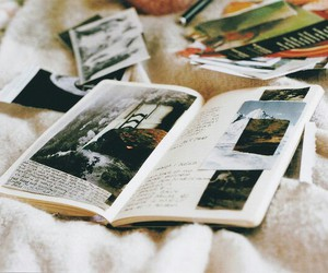 vintage, book, and picture image