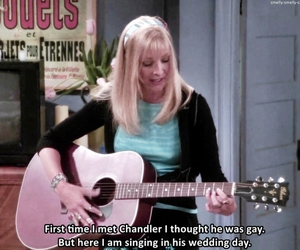 phoebe, friends, and funny image