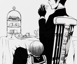 ciel phantomhive, vincent phantomhive, and anime image