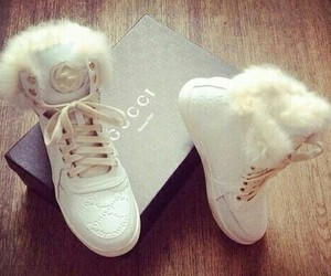 shoes, gucci, and white image