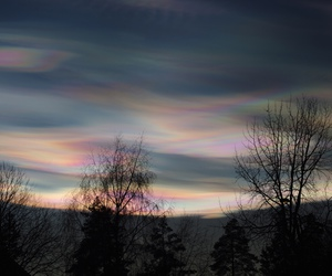 clouds, night, and norway image