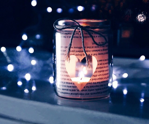 candle, heart, and jar image