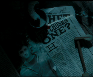 harry potter, jornal, and lord image