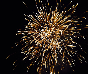 bonfire night, fire, and fireworks image