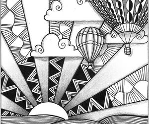 doodles and zentangle image
