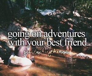 adventure, girl, and best friends image
