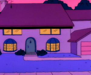 homer, house, and the simpsons image