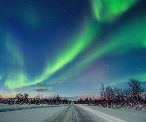 aurora, beautiful, and finland image