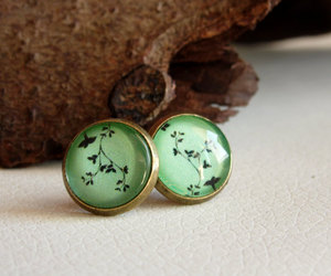 jewelry, mint, and pastel image