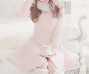 clothes, cream, and pink image