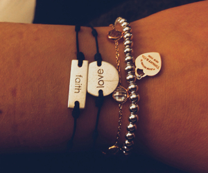 bracelets, complete, and faith image