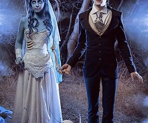 corpse bride, cosplay, and tim burton image