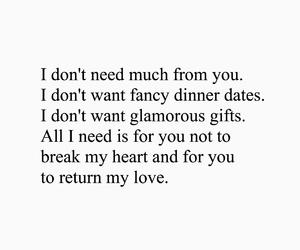 break, dinner, and romance image