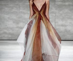 brown, catwalk, and fashion image