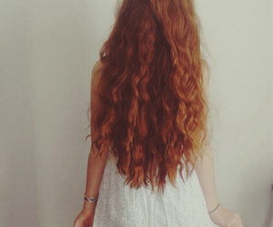 hair, ruiva, and pale image