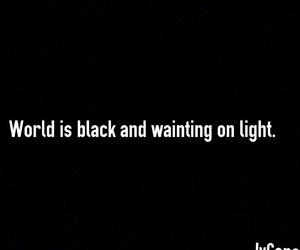 black, world, and light image