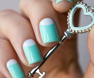 nails, key, and blue image