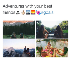 adventure, travel, and trip image