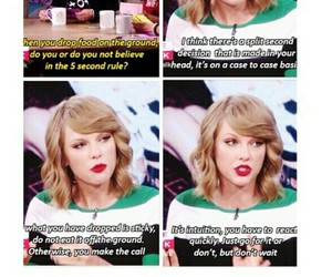 food, funny, and Taylor Swift image