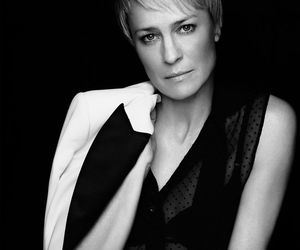 actress, black and white, and house of cards image