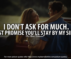 promise and love image
