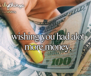money, just girly things, and justgirlythings image
