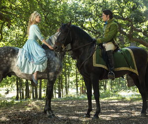 cinderella, disney, and horse image