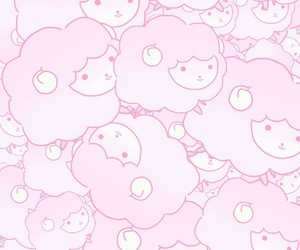 Pink Sheep Wallpaper Uploaded By Charlotte On We Heart It