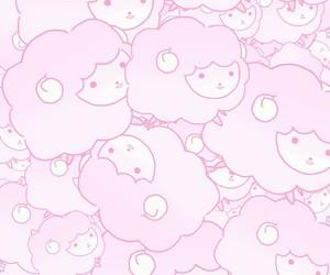 cute, sheep, and wallpaper image